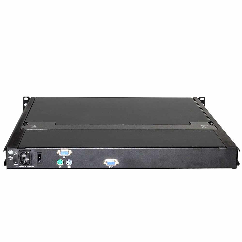 DL1901 19″单口LCD KVM 三合一液晶控制平台