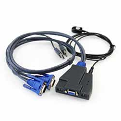 KA1302 2口线控USB KVM切换器