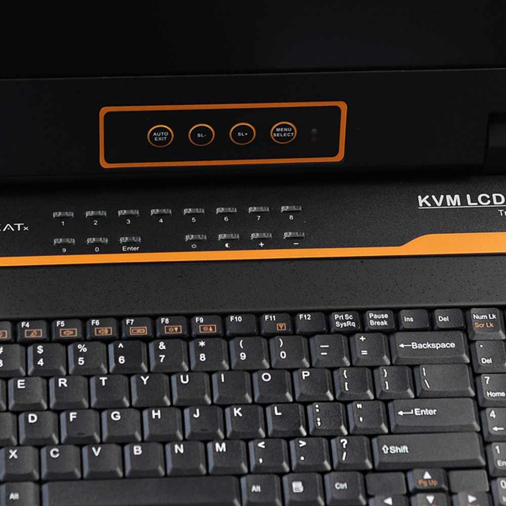 LC1724 17″24网口 LED 液晶KVM控制平台
