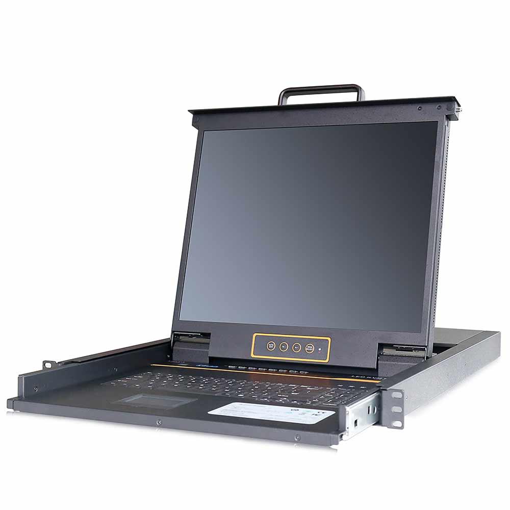 LC1908 19″8网口 LED 液晶KVM控制平台