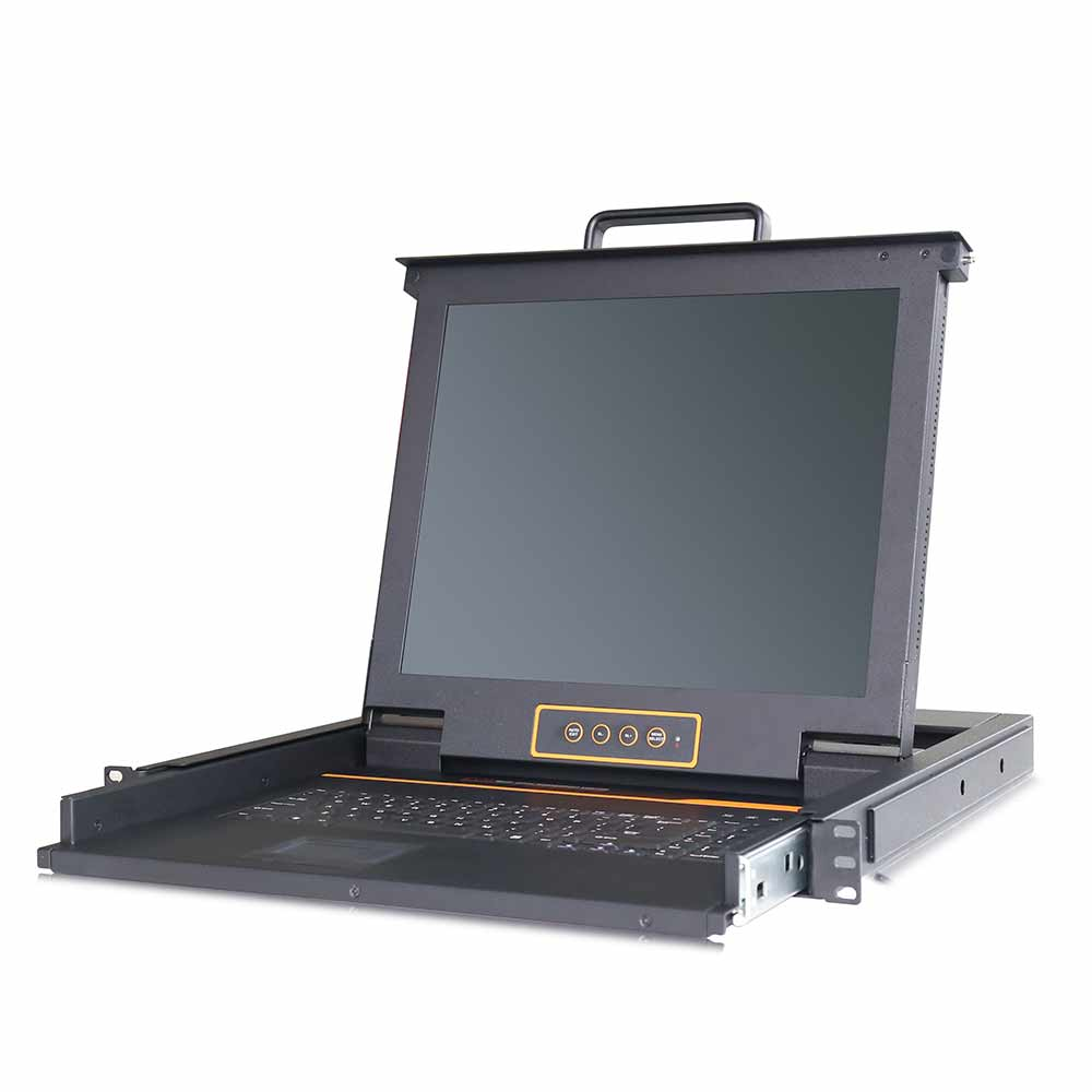 LP1702 2口机架式LCD KVM 切换器