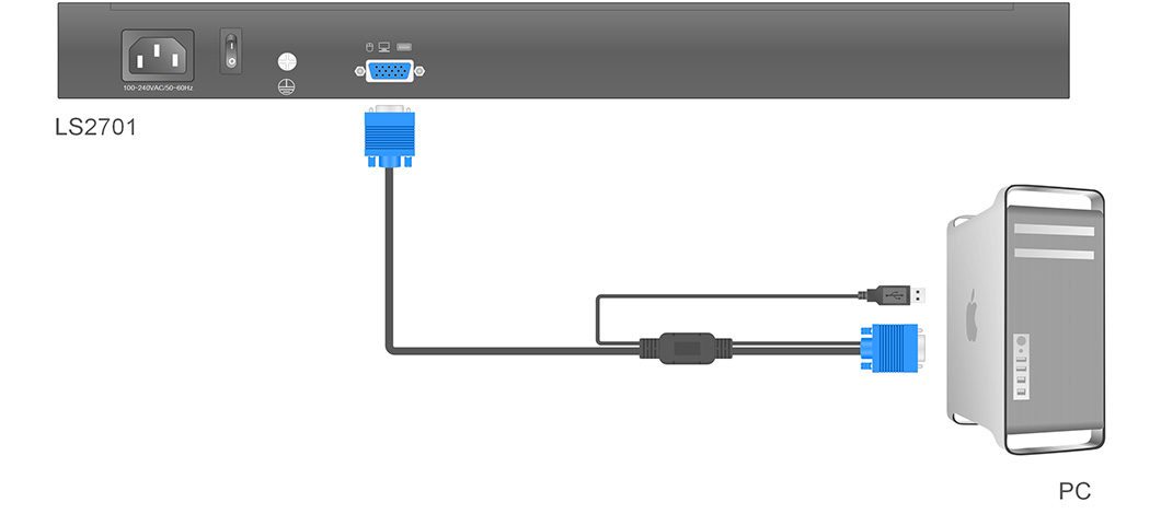 LS2701产品连接示意图