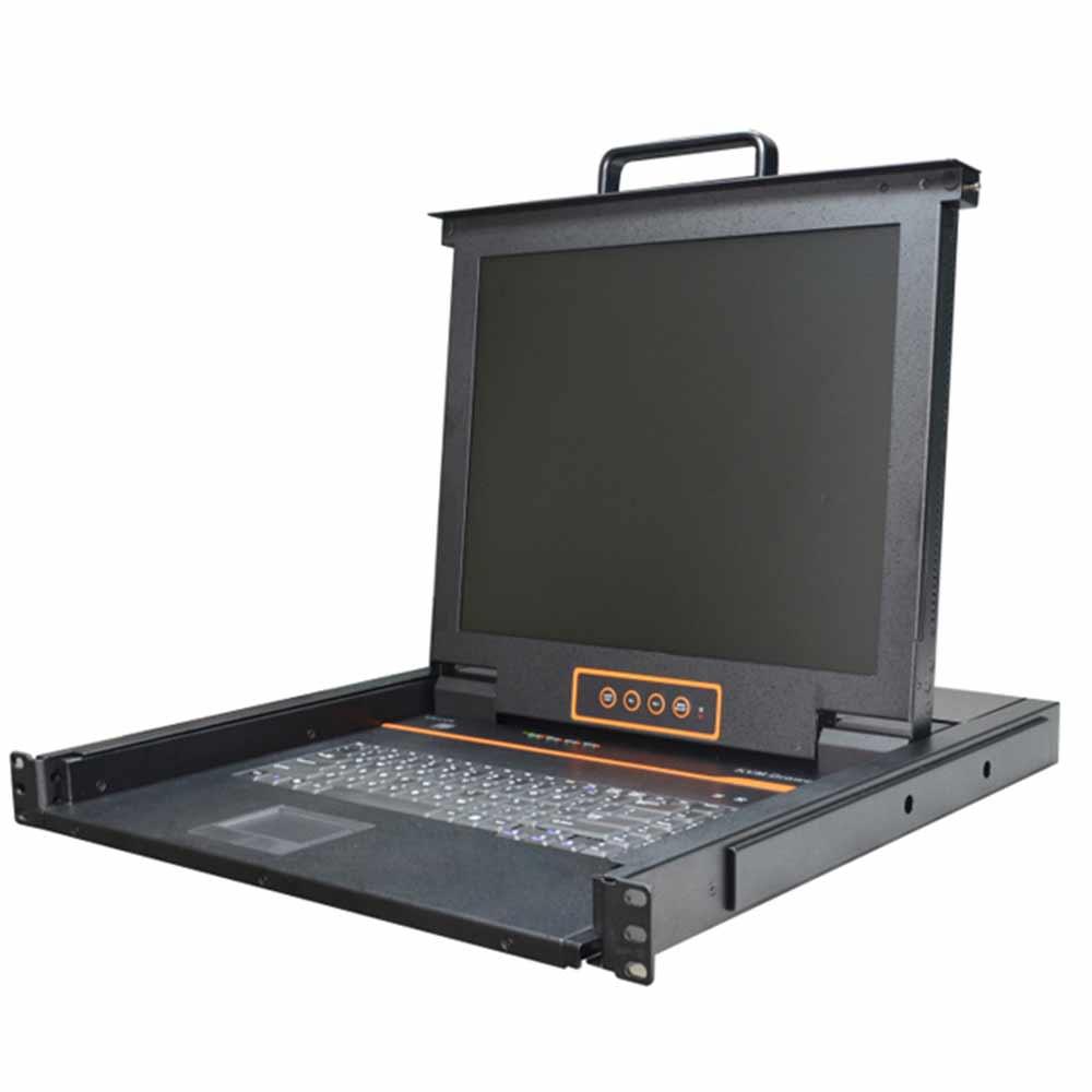 XL1704 4口Combo Lcd KVM 控制平台