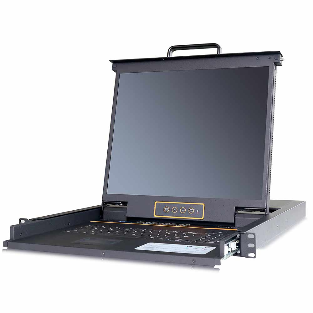 XL1716 17″16VGA口 LED 液晶KVM控制平台