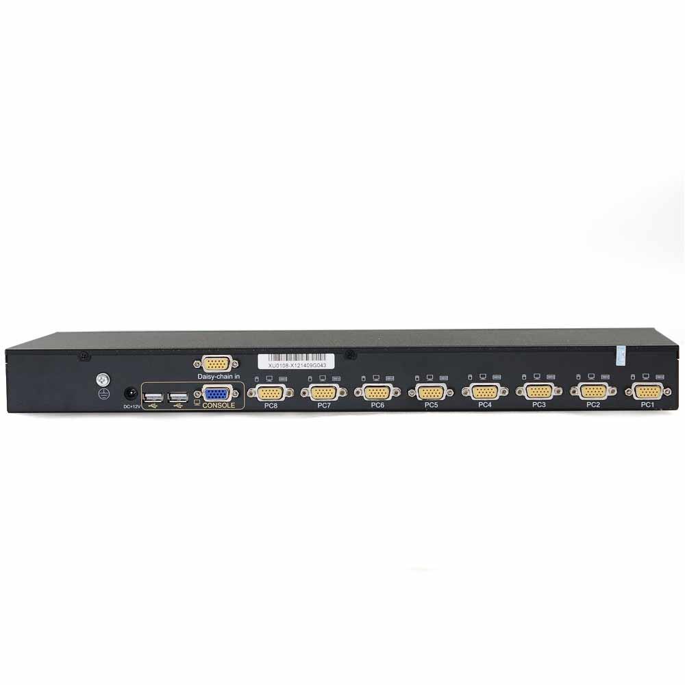 XU0108 8口VGA口 KVM切换器
