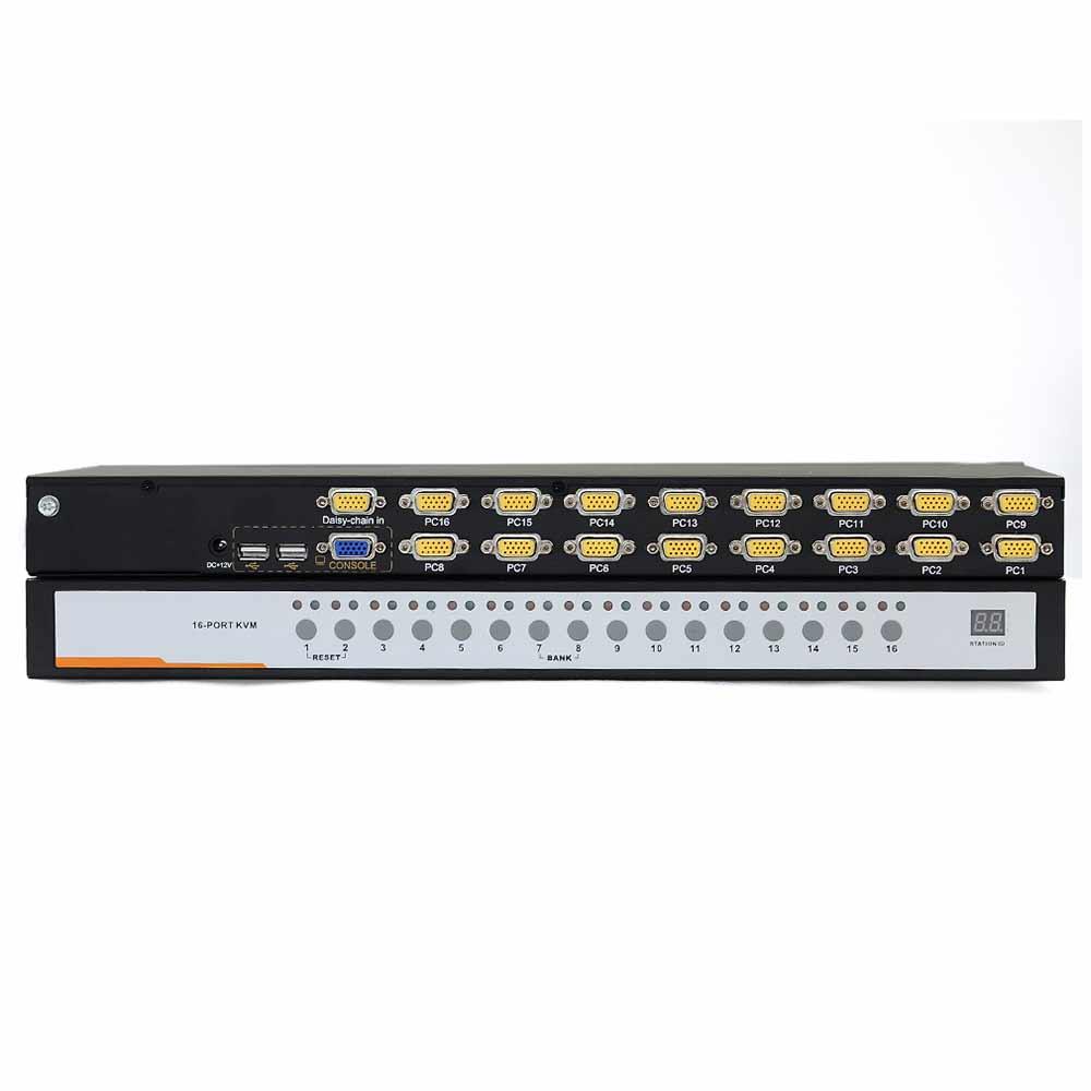 XU0116 16口VGA口 KVM切换器