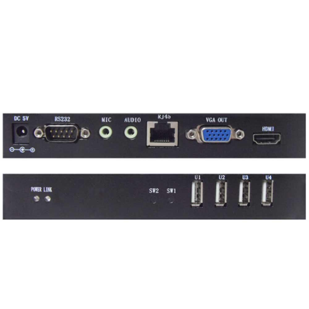 CE100UVA 音频、USB2.0、100米VGA延长器