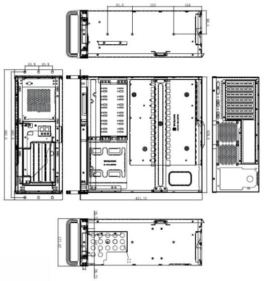 BAX-R4U1工控机解析图