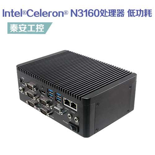 ECS-BSW 嵌入式工控机-无风扇低功耗 板载Intel®Celeron® N3160处理器