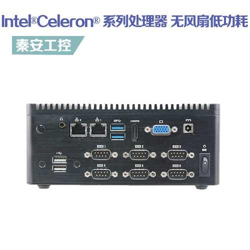 ECS-SKLUC 嵌入式工控机--无风扇低功耗 板载Intel®Celeron® 系列处理器