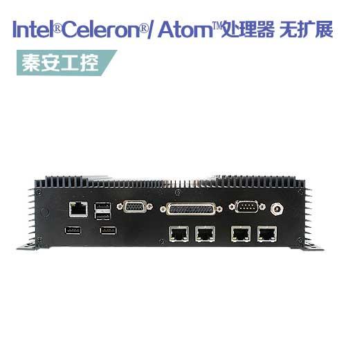 EMS-BYT-5LAN 嵌入式工控机--无风扇无扩展 板载Intel®Celeron®/ Atom™处理器